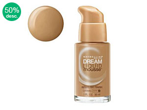 Base Maybelline Dream Liquid Mousse 30ml Caramel