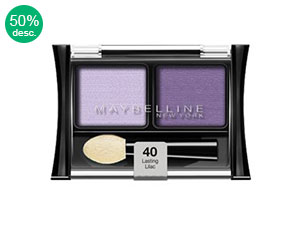 Sombra Maybelline Duo 40 Lasting Lilac