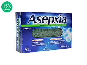 Asepxia Sabonete Adstringente Herbario 85g