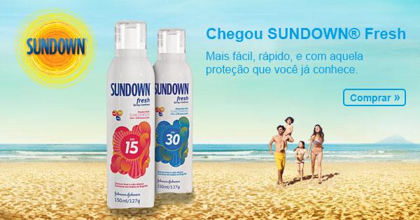 Chegou Sundown Fresh - Mais fácil, rápido, e com aquela proteção que você já conhece. Comprar