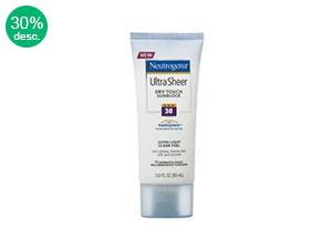 Neutrogena Ultra Sheert FPS30 88ml